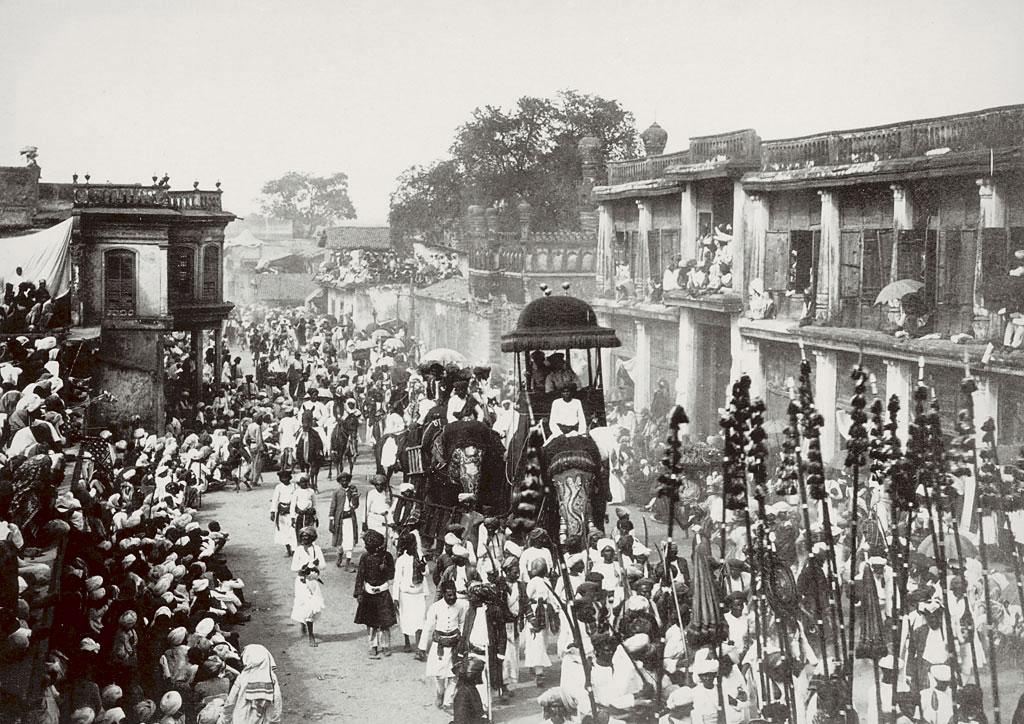 Mohurrum Festival by Lala Deen Dayal