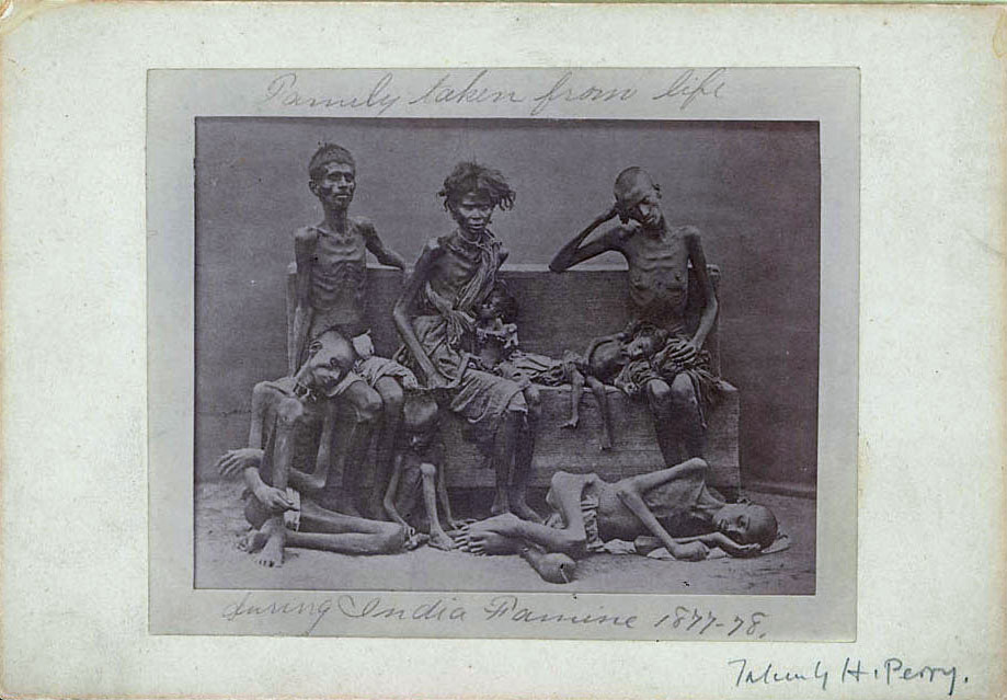 Portrait of Eight Victims of Famine of 1877-78