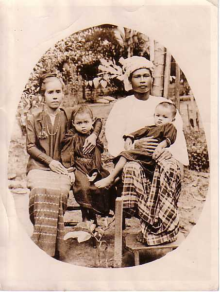 Christian Family of Burma - 1920's