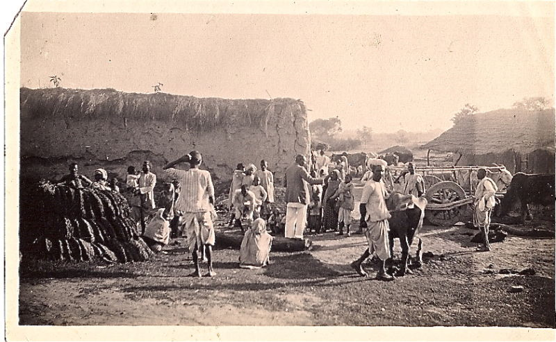 Photograph of a Indian Village - 1910's Missionary Photograph
