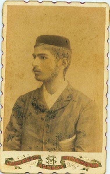 Vintage Portrait of Indian Man