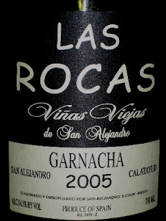 Red White And Food Las Rocas Vinas Viejas Garnacha 2005