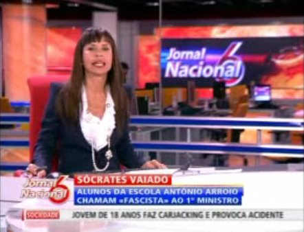 Manuela Moura Guedes, Jornal de Sexta