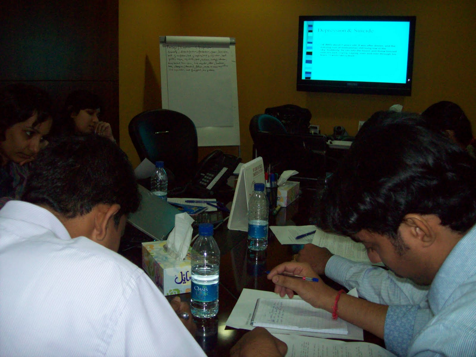 Aasra suicide prevention for Consul training