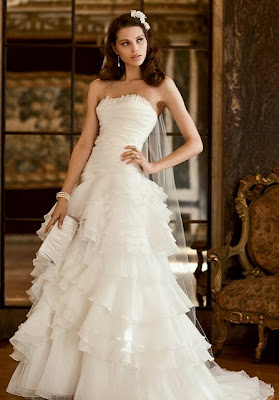 Flamenco Mexican Wedding Dress
