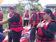 Ekspedisi Berkayak Di Sg. Slim, Slim Village, 19 April 2008