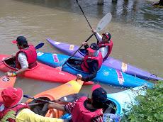 Ekspedisi Berkayak Di Sg. Slim River hingga ke Tasik Slim River, 19 April 2008