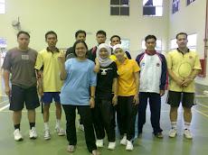 Kejohanan Badminton Campuran Berpasukan (L & W), Karnival Sukan Staf UPSI Ke-3 2008