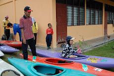 XPDC Berkayak Di Sg. Slim, Slim Village