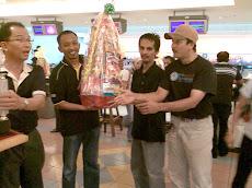 Kejohanan Tenpin Boling Campuran Berpasukan, Karnival Sukan Staf UPSI Ke-3 2008 (18 Mei 2008)