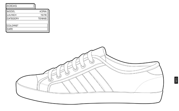 Ddd Daily Design Dose Sneaker Coloring Book