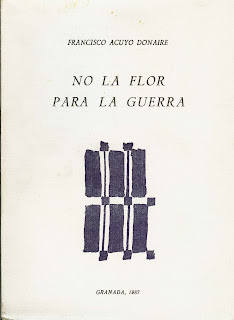 No la flor para la guerra, Ancile, Francisco Acuyo
