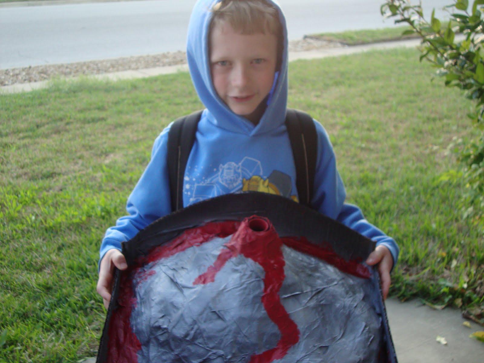 Superhero Training Connor S Volcano
