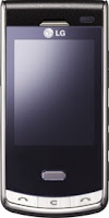 LG Secret KF750 Black Label Cell Phone