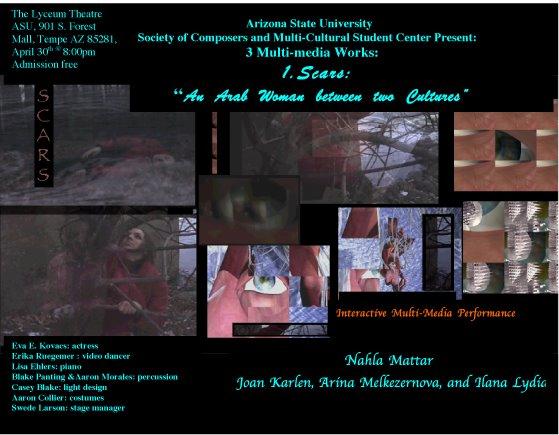 Poster: Scars April 2005