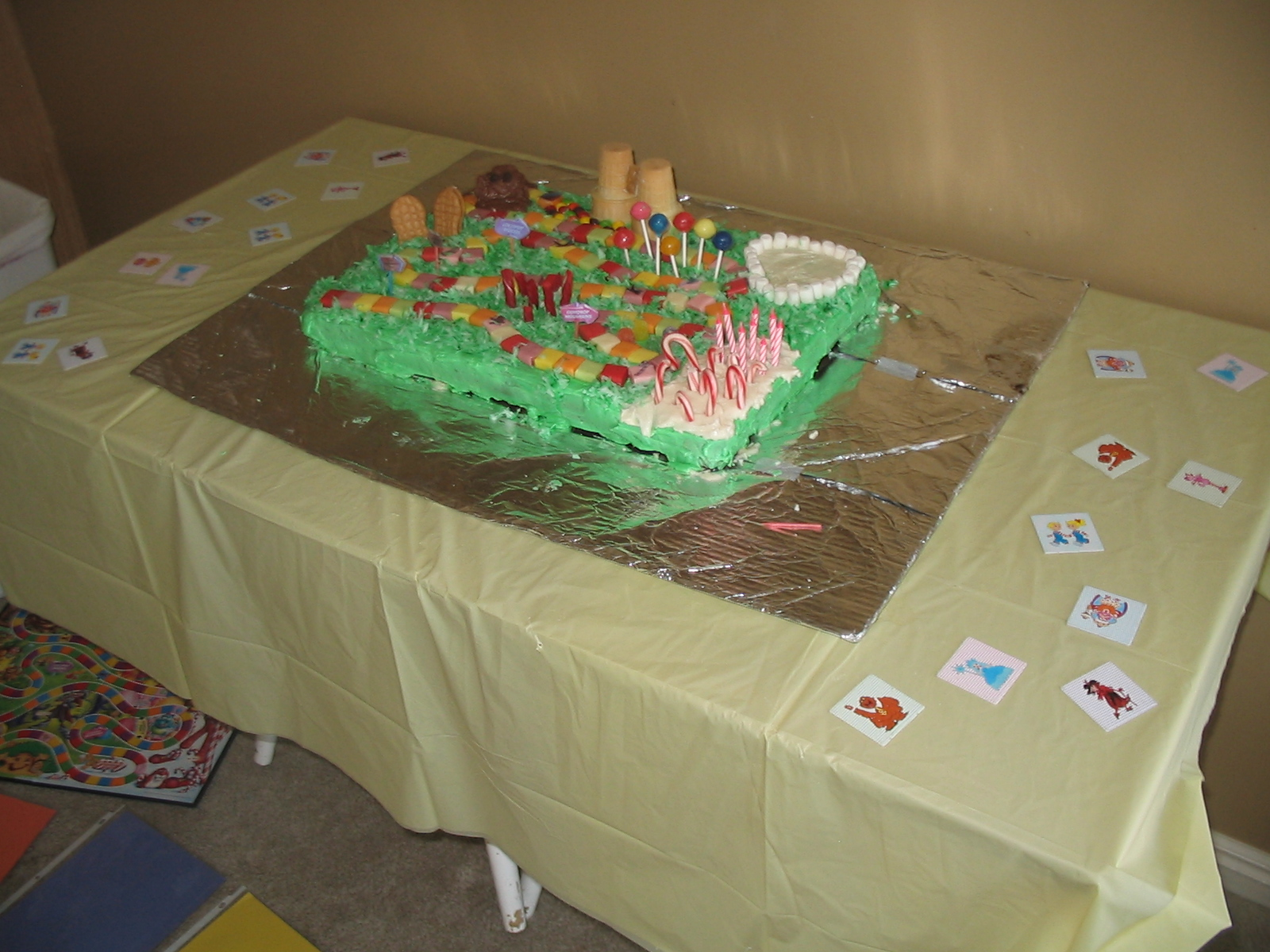 Razzle Dazzle Your Kids Candy Land Birthday Party 8