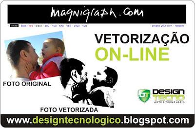 vetorização online