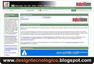 páginas antigas sites