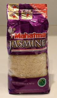 Mahatma Jasmine Rice package