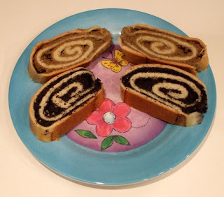 nut roll and poppy seed roll