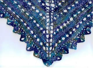 Free Crochet Pattern 13779 Prayer Shawl / Healing Shawl