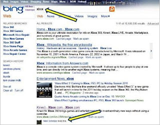 Facebook Like Information on Bing Results