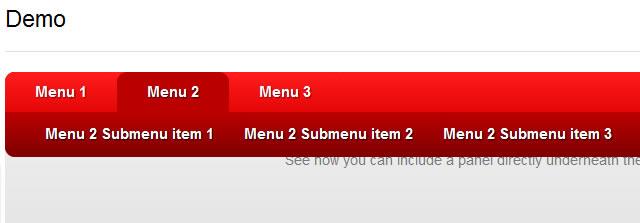 CSS3-only horizontal drop line tab menu | Tutorial101