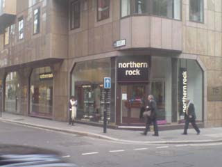 Later that same day at Northern Rock
