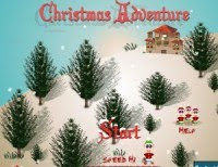 Besplatne Božićne flash igre online - Christmas Adventure Game