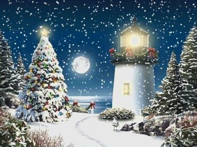 božićne novogodišnje čestitke Božićne slike i e card čestitke: Svijetionik za vrijeme Božićnih i  božićne novogodišnje čestitke