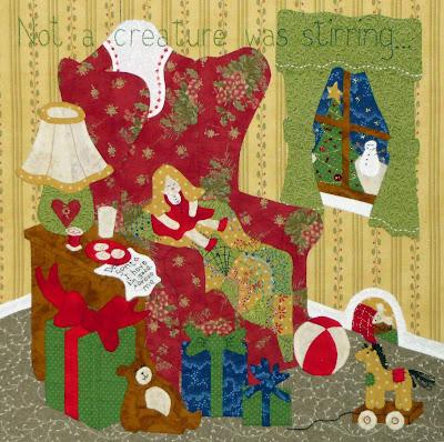 Come Quilt (Sue Garman): Twas the Night Before Christmas.... : twas the night before christmas quilt - Adamdwight.com