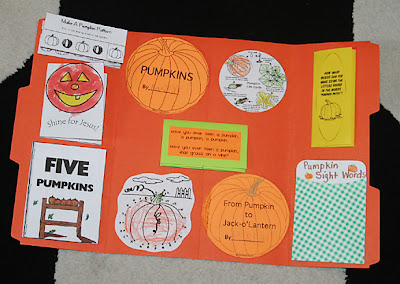 Pumpkins Lapbook 1 1 1 1