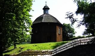 Kraków Salwator Kaplica drewniana