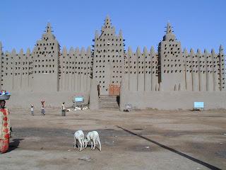 Wielki Meczet w Dżenne, Mali