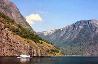 Fiord Norwegia