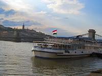 Budapeszt Dunaj Statek