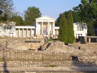 Budapeszt Ruiny rzymskie Aquincum