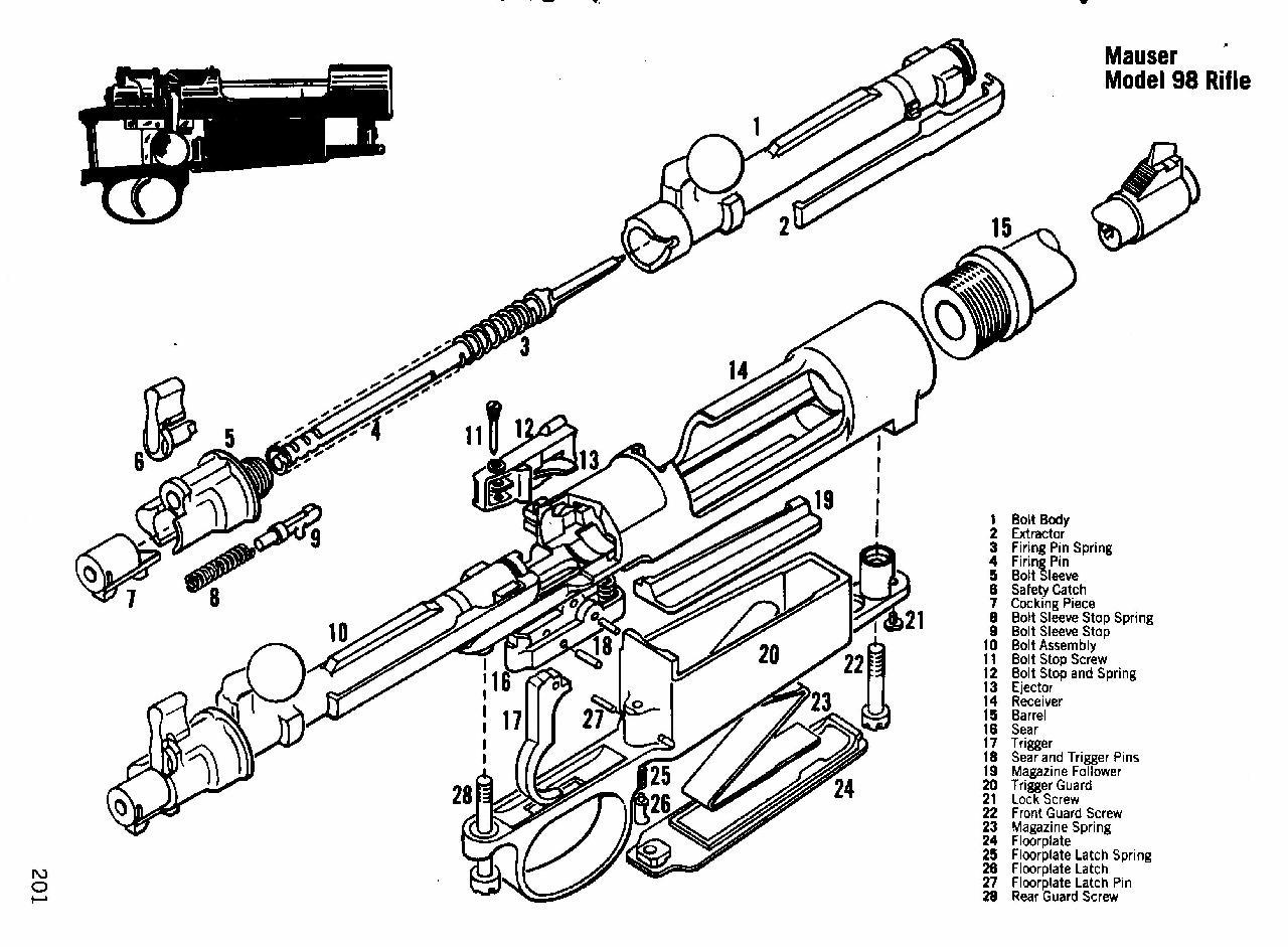Mosin Nagant Parts Diagram Auto Electrical Wiring Diagram