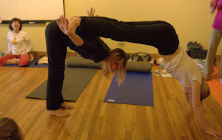 susan's evolution partner poses kids yoga teacher