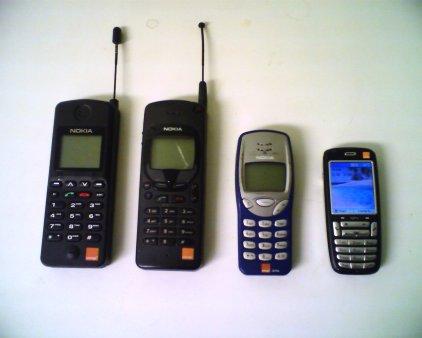 pengunaan handphone