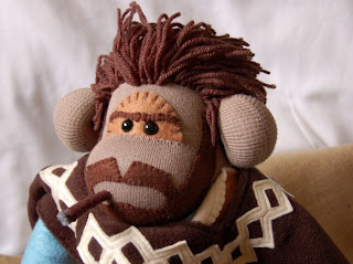 ... sock monkey - another superstar monkey created just for us by