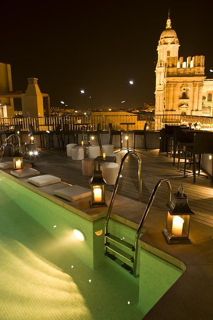 Turismo Y Viajes El Hotel Molina Lario Inaugura Su Terraza