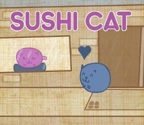 遊ぶ寿司猫ゲーム