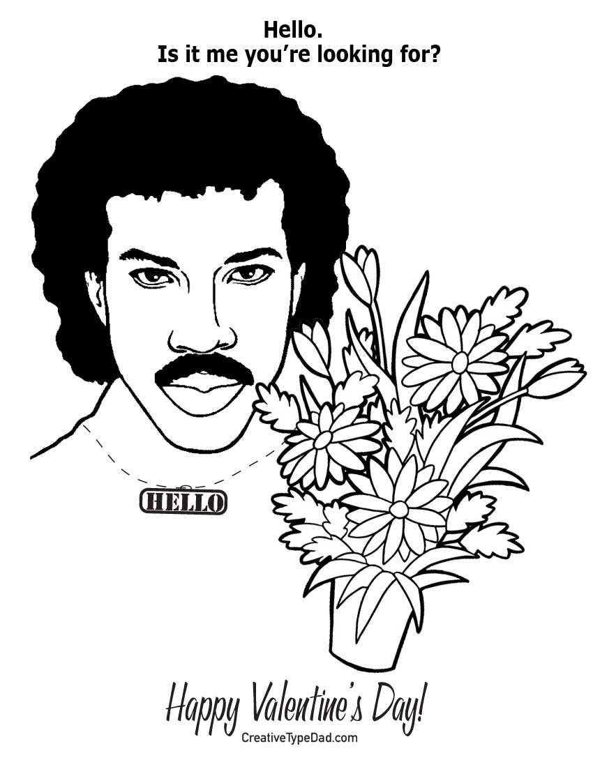 Fiji plants and flowers for Valentines day coloring pages for dad