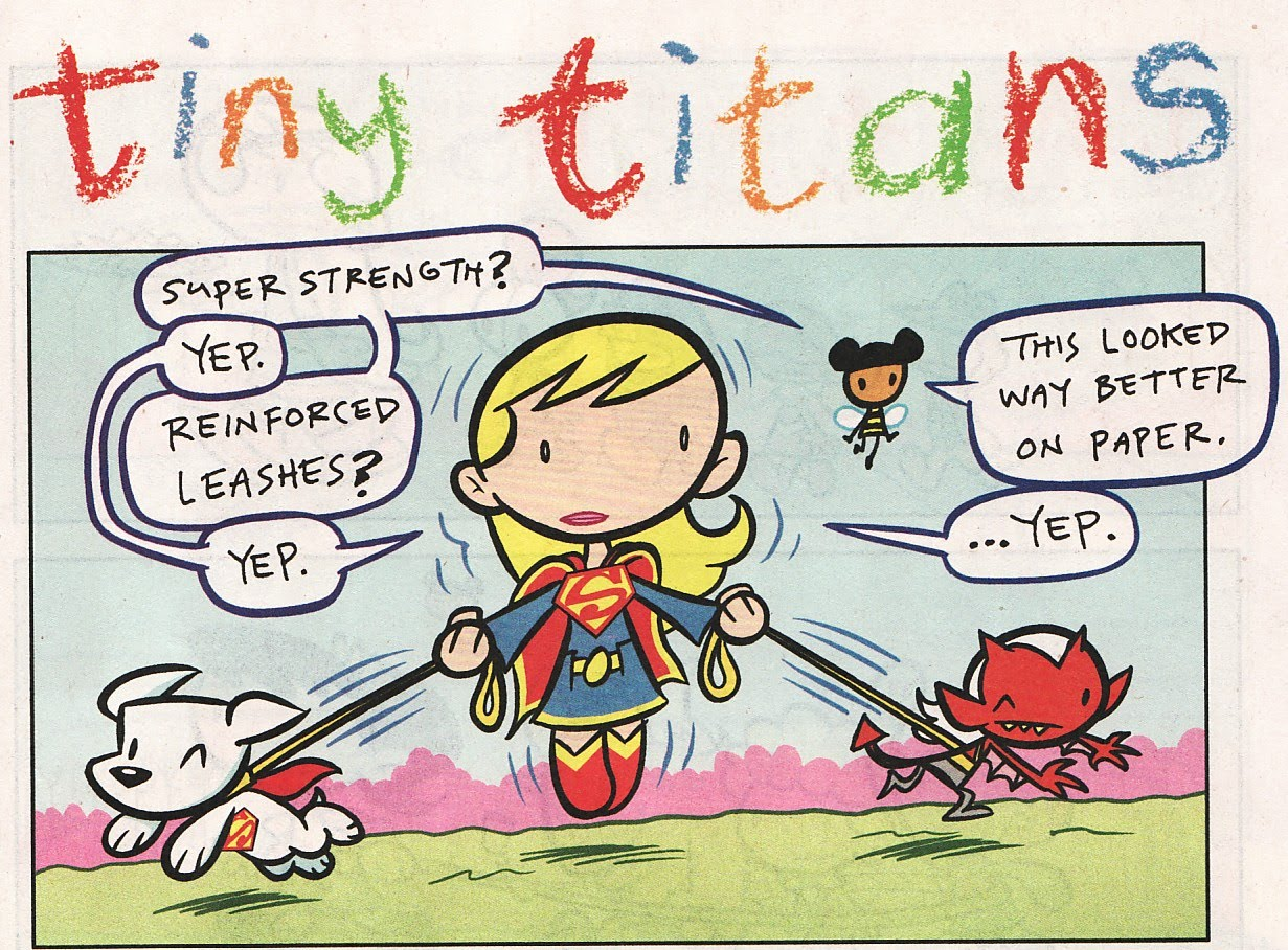 Supergirl Comic Box Commentary: Review: Tiny Titans #29