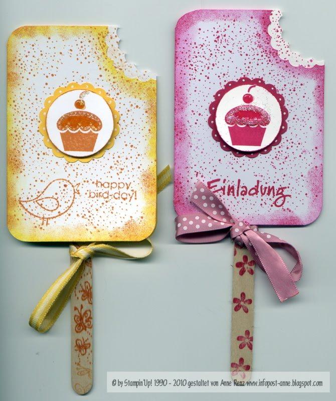 Eis Am Stiel Als Einladung Und Geburtstagskarte