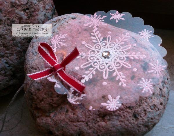 Infopost kreativ mit stempel weihnachtskugel aus folie - Weihnachtskugel englisch ...