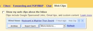 gmail settings screen
