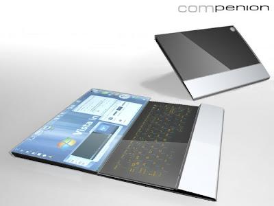 leptop1 Os 10 mais maneiros notebooks conceituais   Curiosidades