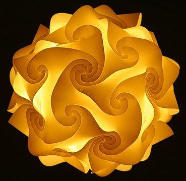 Aprenda a fazer esta sensacional luminária   Curiosidades